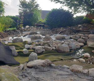 Neugestaltung der Flachwasserzone
