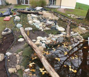 Bau der Wasserläufe