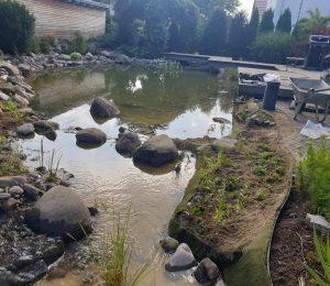 Teichsanierung in Bad Saulgau
